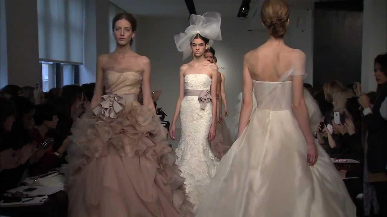 Vera Wang Spring 2012 Bridal: Backstage - YouTube