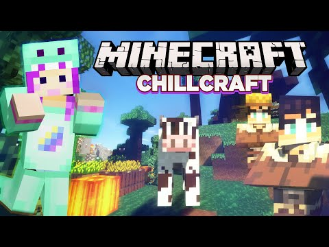 Finding the CUTEST Village Ever- Minecraft Chillcraft 1.14