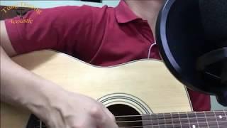 """Em Gái Mưa """"Hương Tràm"""" Guitar cover By Tùng Dương Acoustic"""