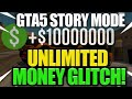 GTA 5 MONEY glitch NEW (story mode) how to make (billions in second)easy guide ps4/xbox1/pc