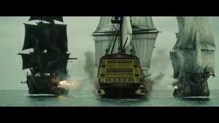 Пираты карибского моря / Pirates of the Caribbean / 2007 / Drama Scene, music, soundtrack - Part 2