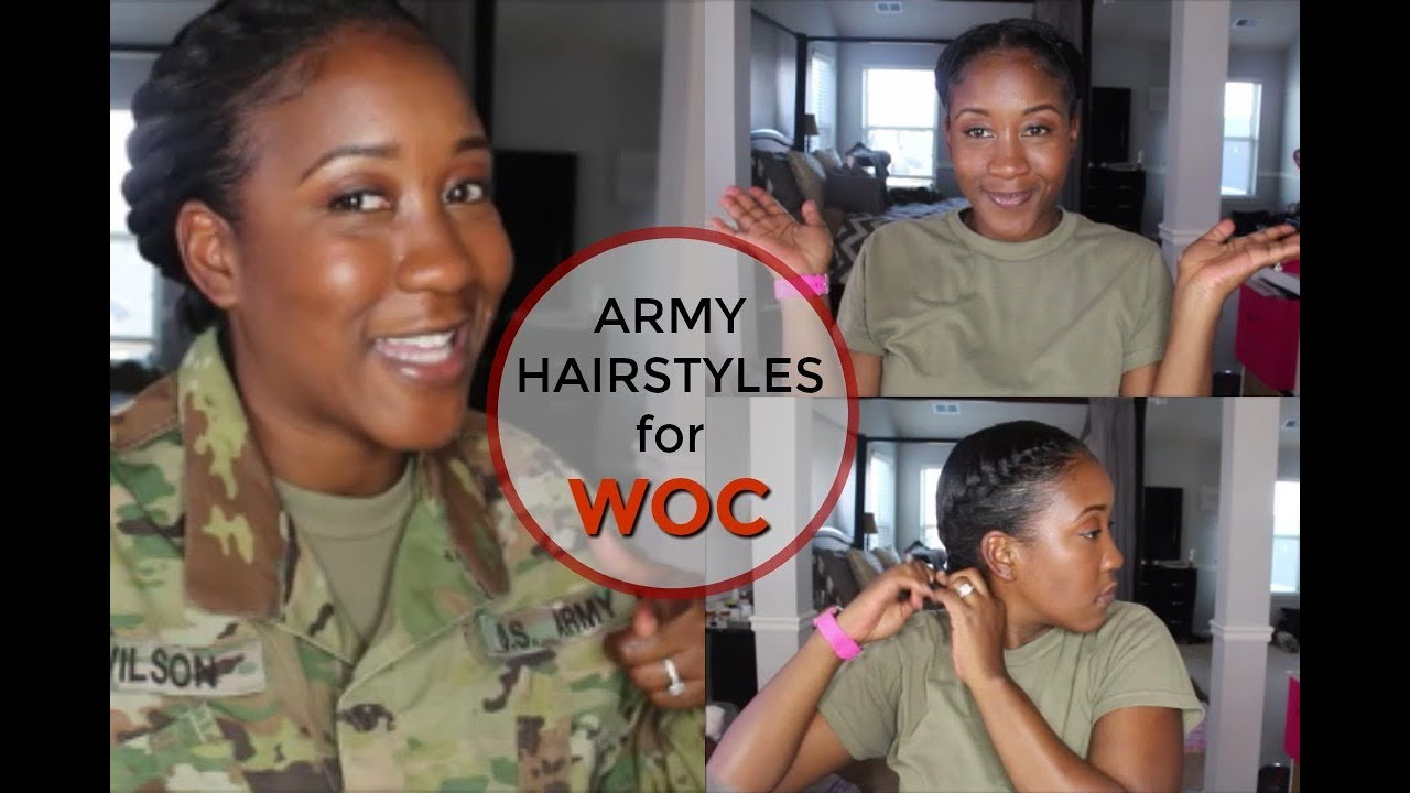 hairstyles for females in the military ( natural or relaxed)