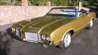 1972 Olds Cutlass Supreme Convertible for sale Old Town Automobile in Maryland