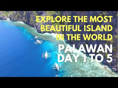 Palawan, El Nido the best island in the world - travel guide day 1 to day 5