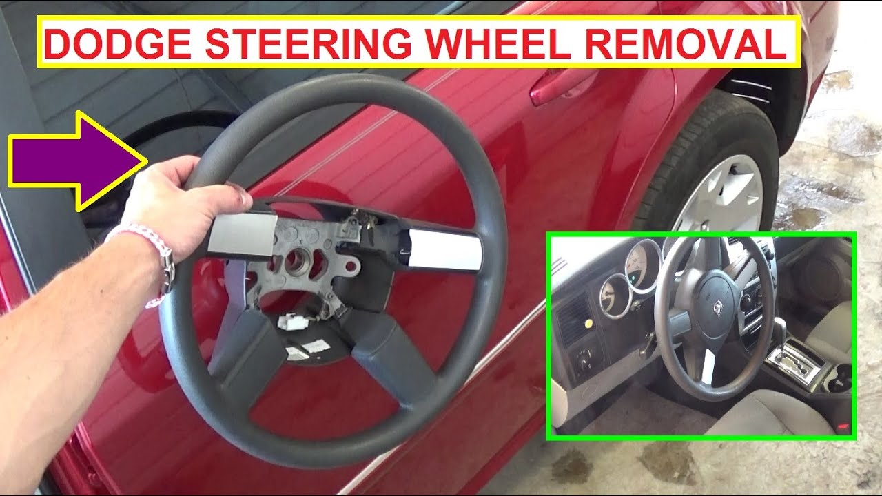 how to remove and replace the steering wheel on dodge charger dodge