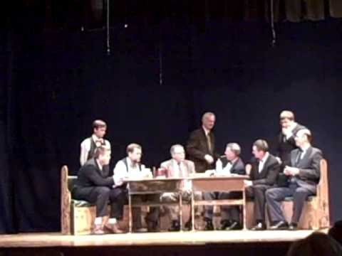 The Poker Scene - Sam as Joseph Pulitzer