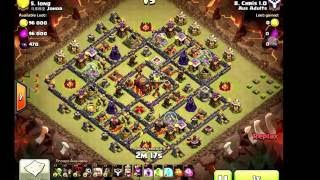 Clash of Clans - TH10 3 Star War Attacks #011 - Aus Adults - Queen Walk, Lavaloon, Hogs & Witches