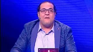 مينا نادر يطلق زغرودة فرحا بزواج داليا البحيري.. فيديو