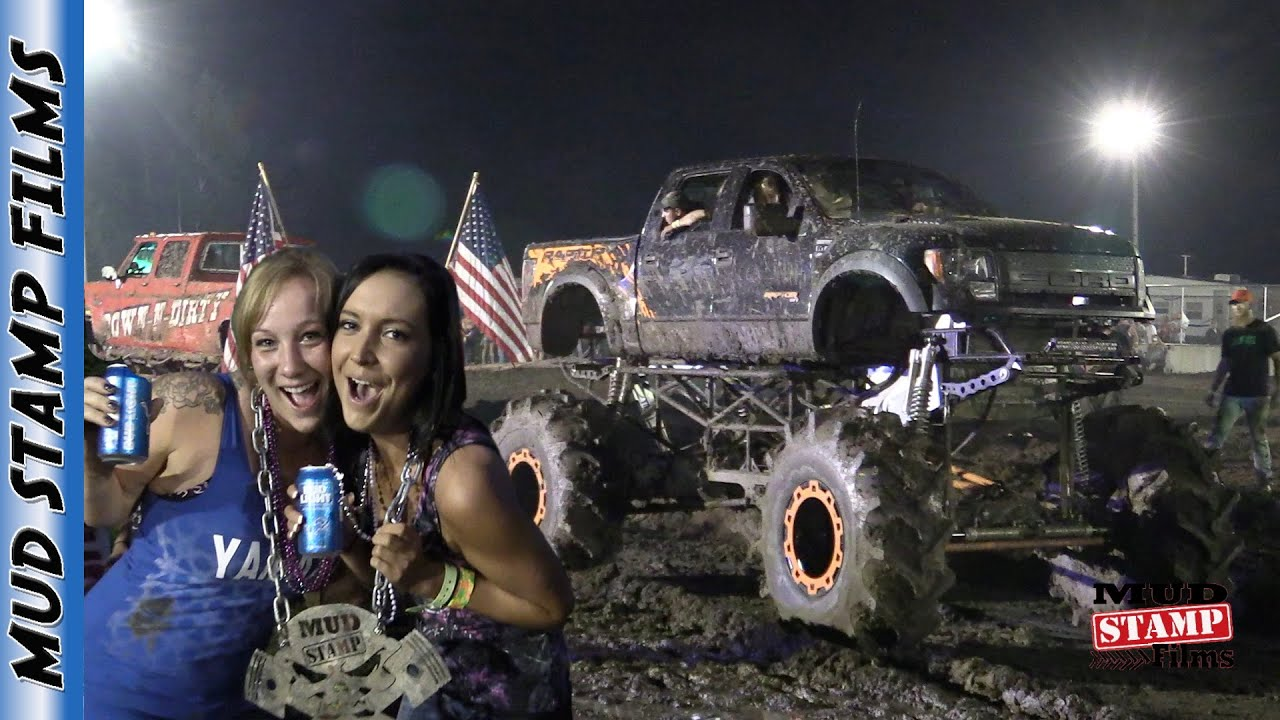 FRIDAY NIGHT TRUCK PULLS - MICHIGAN MUD JAM 2016