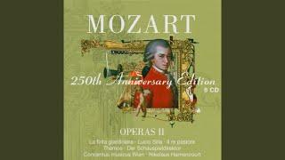 """Mozart : Il re pastore : Act 2 """"Viva, viva l'invitto duce"""" [Elisa, Tamiri, Aminta, Agenore,..."""