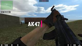 Counter Strike : Source Ultra Mod Pack 6 Weapons Showcase