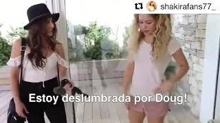 Shakira meets Doug The Pug!!!