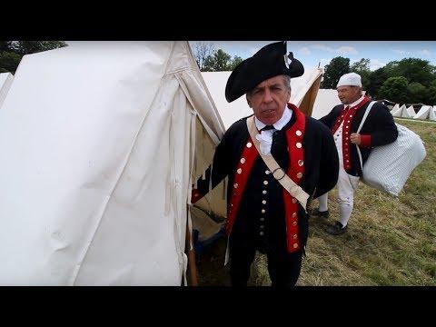 Revolutionary War Reenacting Part. 1