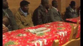 Una reunión con hermanos cristianos de áfrica en Barcelona
