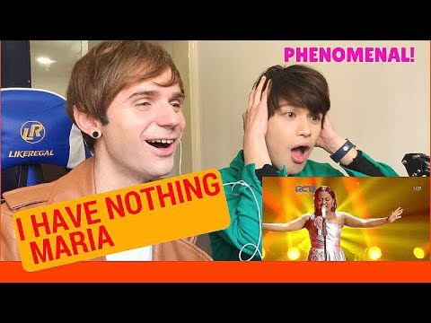 Maria I HAVE NOTHING Reaction (Indonesian Idol Spekta Show Top 3)