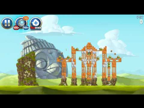 Angry Birds Star Wars 2 Master your destiny All levels (Bird Side)