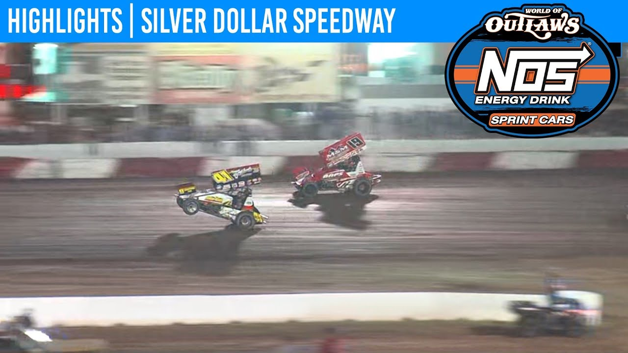 World of Outlaws NOS Energy Drink Sprint Cars Silver Dollar Speedway, Sept. 7th, 2019 | HIGHLIGHTS