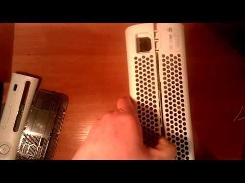 Как разобрать XBOX 360