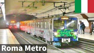 ローマ地下鉄A線・B線(Roma Metro Line A and B)