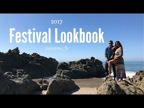 FESTIVAL INSPIRED FASHION LOOK BOOK 2017 | VALENTINA JO
