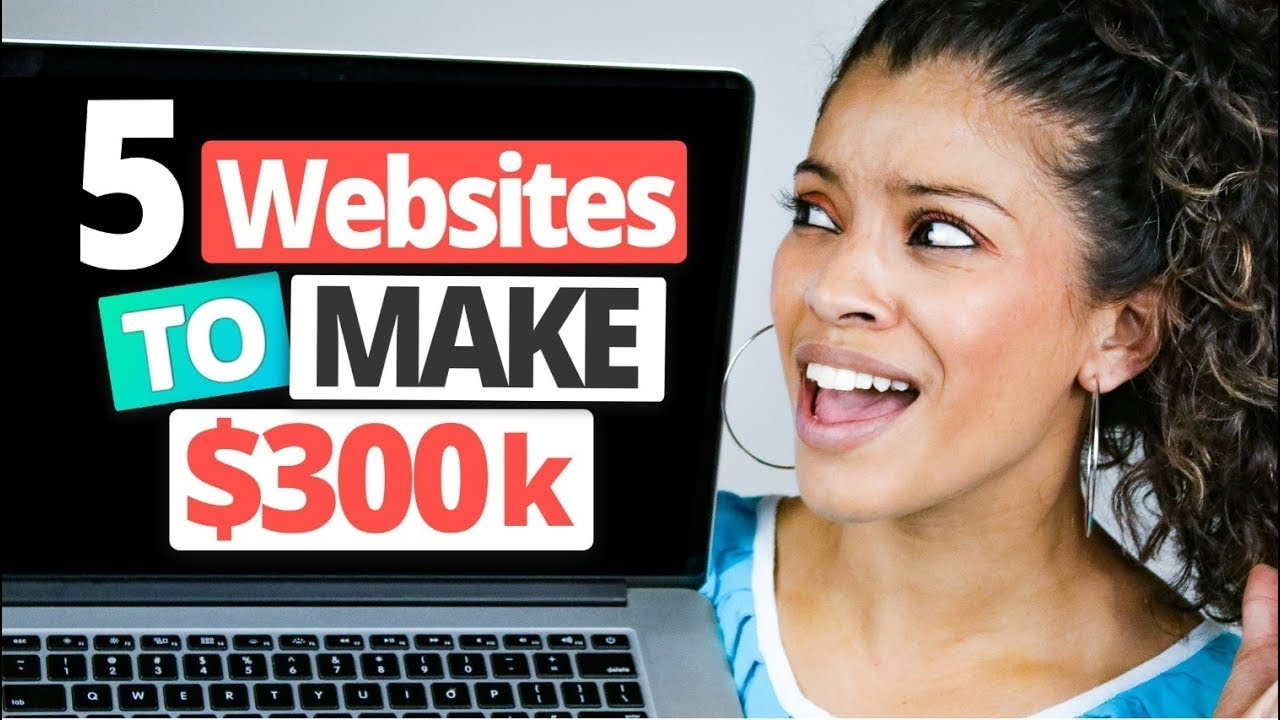 5 BEST Income Streams That Make $300,000 Online (USE THESE WEBSITES)| Marissa Romero