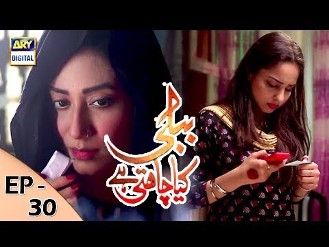 Bubbly Kya Chahti Hai - Episode 30 - 19th December 2017 - ARY Digital Drama