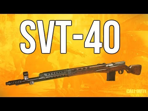 WW2 In Depth: SVT-40 Rifle Review (Call of Duty: WWII)