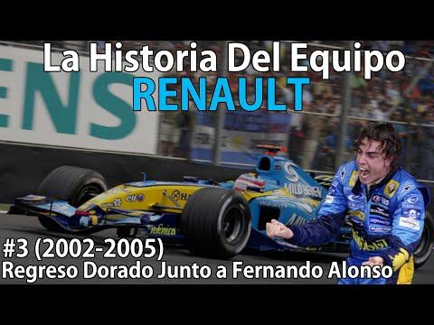 #3 Regreso Triunfal Junto a Fernando Alonso (2002-2005)  Historia Del Equipo Renault