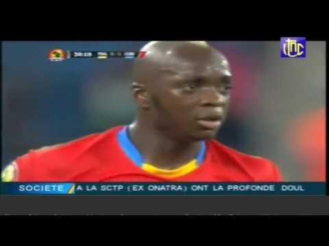 CAN 2017: RD Congo Vs Togo (3-1)