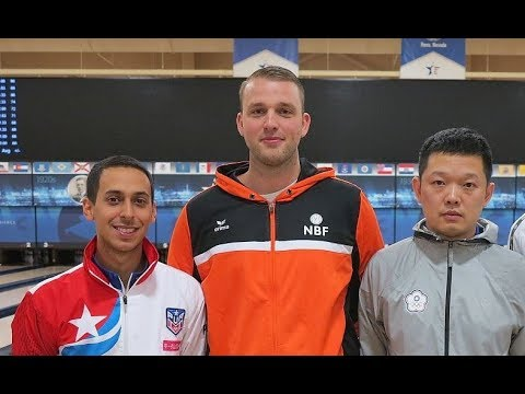 2017 Bowling - World Bowling Single Final (Van Mazijk,吳浩銘,Hernandez)