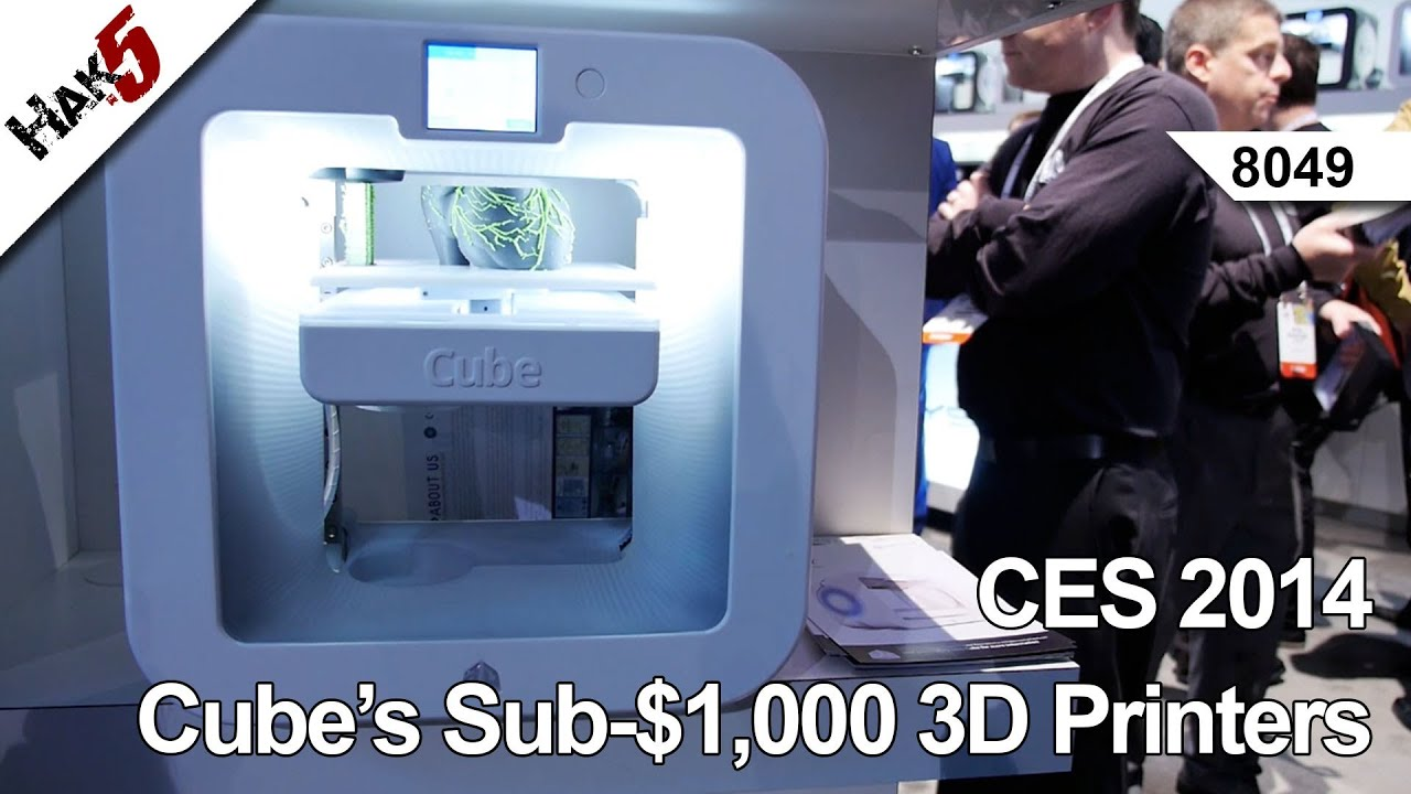 3D Systems Cube Personal 3D Printer