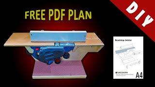 Benchtop Jointer making / Free PDF