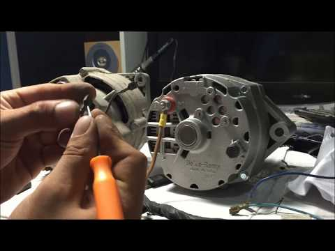 how to rewire alternator wiring harness for internally regulated GM conversion chevelle