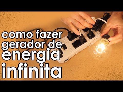 Como fazer um gerador de energia infinita (experiência)