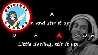 Bob Marley - Stir It Up - Chords & Lyrics