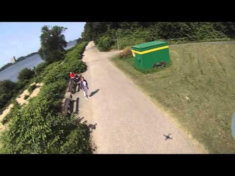 DJI Phantom - GoPro - Hamburg - Elbhang