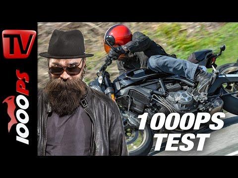 1000PS Test- Ducati Scrambler Cafe Racer 2017 - Espresso oder Cafe Latte?