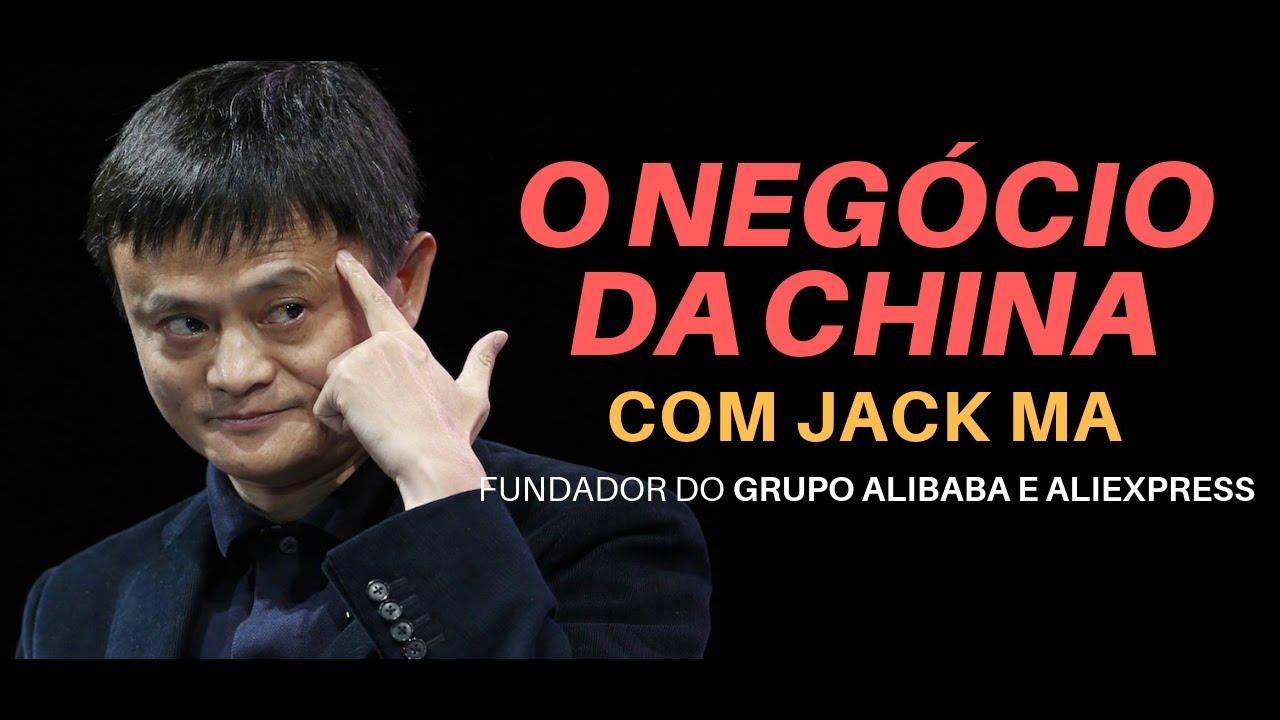 A História da Fundação Grupo Alibaba, com Jack Ma  [Motivacional Legendado Português]