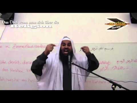 Ahmad Abul Baraa - Das Übel wenn man sich über die Religion lustig macht