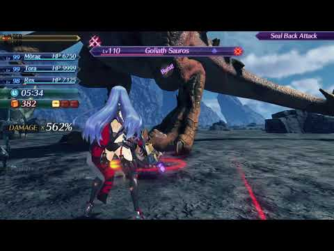 [Xenoblade Chronicles 2] Dino Drama Guide - Normal (Challenge Mode)