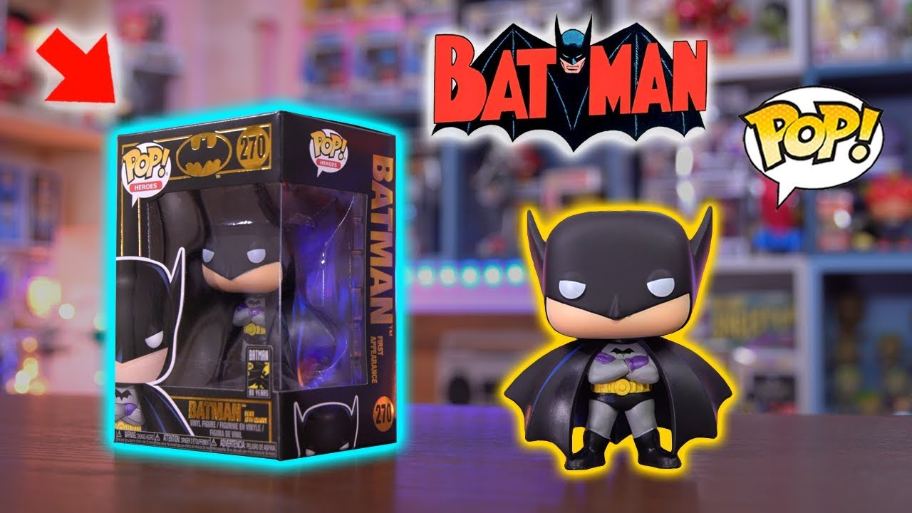 01d9b4b35ef Batman (First Appearance) Funko Pop - Unboxing   Review! - YouTube