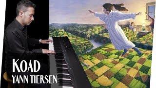 Yann Tiersen - Koad (Piano Cover) ᴴᴰ 🙏🌳 Rob Gonsalves - Hora de los Sueños
