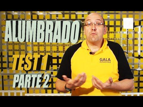 Carnet de Conducir Teórico 2017| ALUMBRADO| Test 1 Parte 2 |Permiso b