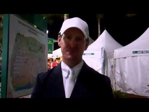 McLain Ward on winning the Rolex Grand Prix
