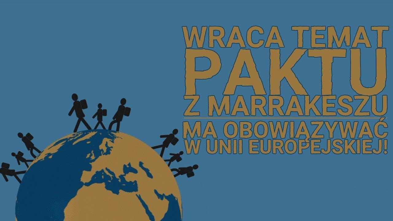 Pakt Migracyjny ma obowiązywać w Unii Europejskiej!