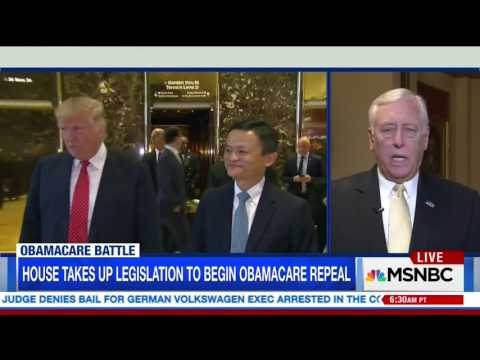 Hoyer Discusses Russian Interference in US Election, ACA on MSNBC