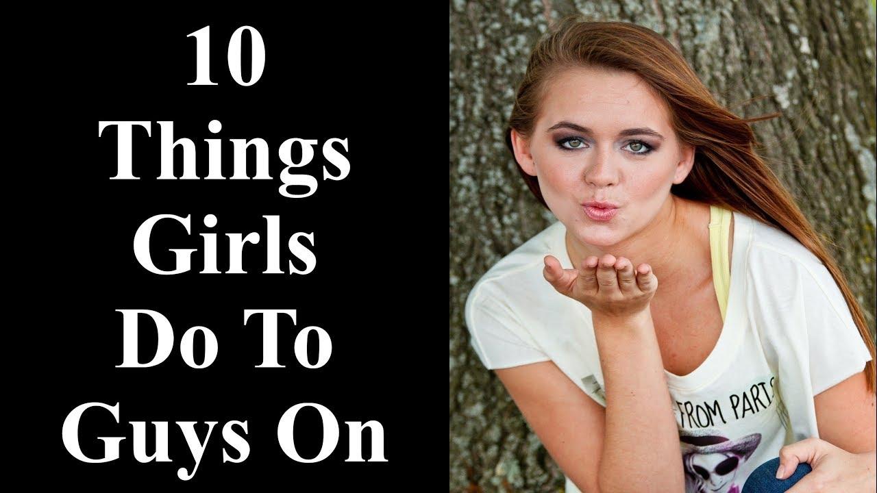 things that turn girls on