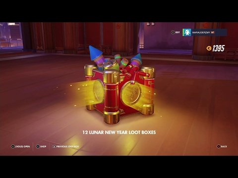 The Golden Rooster Got Me!! - Opening Overwatch Loot Boxes