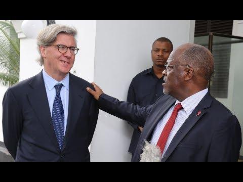 🔴LIVE: Ujio wa Mwenyekiti wa Barrick Gold Corporation ya Canada, Profesa John L. Thornton