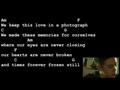 Photograph - Ed Sheeran [Lyrics And Chords] Guitar Tutorial